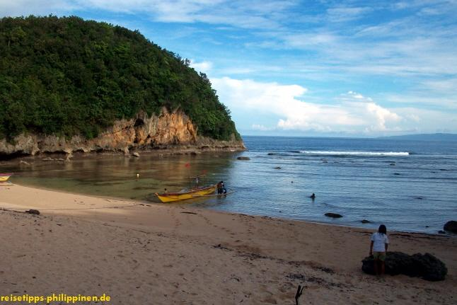 Strand bei Igang, Catanduanes