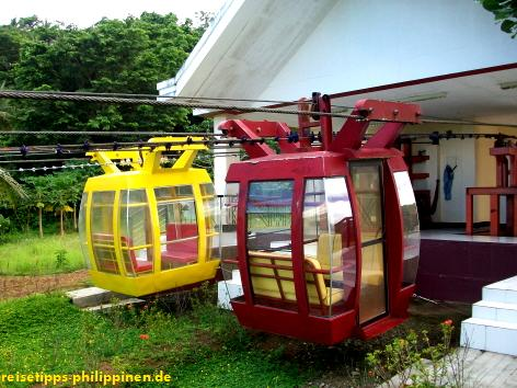 Seilbahn am Sula Channel, Albay